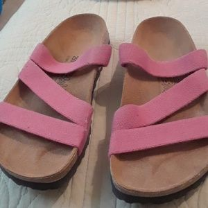 birki's Shoes - Never worn size 8 pink Birkis